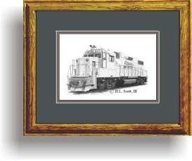 CW #810 framed style C