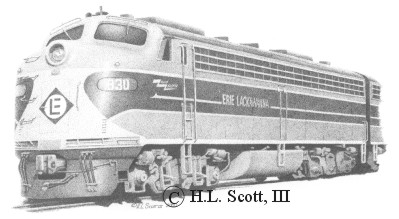 Erie Lackawanna #830