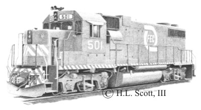 Florida East Coast Railway #501