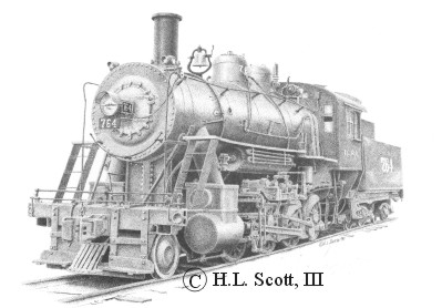 Illinois Central Railroad #764