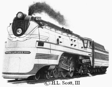 Milwaukee Road #100