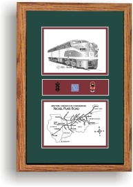 Nickel Plate Railroad 180 art print