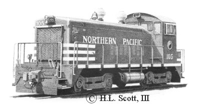 Northern Pacific #105