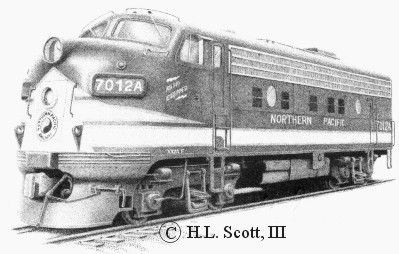 Northern Pacific #7012