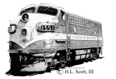 texas and pacific railroad 1551