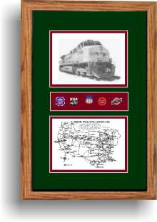 Union Pacific Railroad 5700 art print