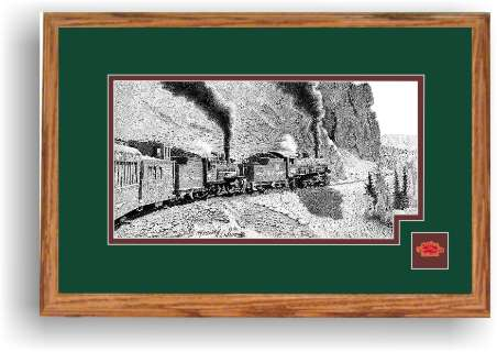 Cumbres and Toltec Railroad at windy point