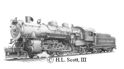 Westerm Maryland Railroad #202